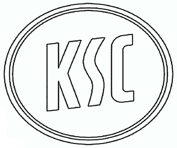 Karlsruher sc Wappen zum ausmalen
