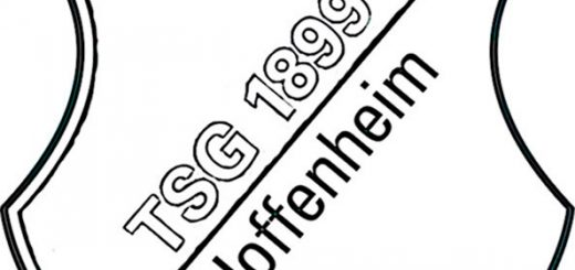 TSG 1899 Hoffenheim Wappen zum ausmalen