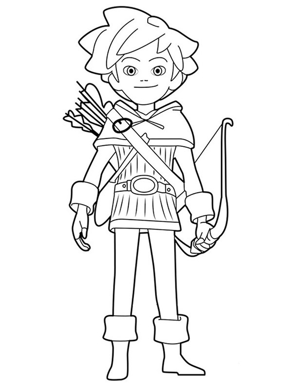 Robin Hood ausmalbilder 10