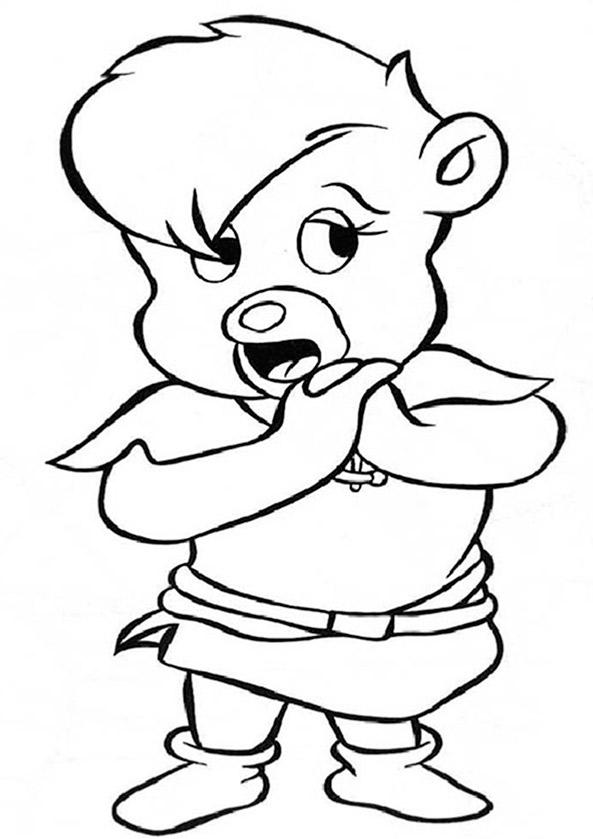 Robin Hood ausmalbilder 13