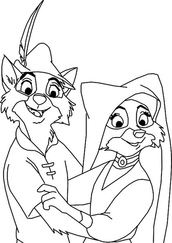 Robin Hood ausmalbilder 4