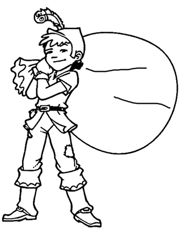 Robin Hood ausmalbilder 9
